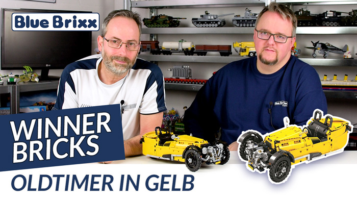 Youtube: Oldtimer in gelb von Winner Bricks @ BlueBrixx