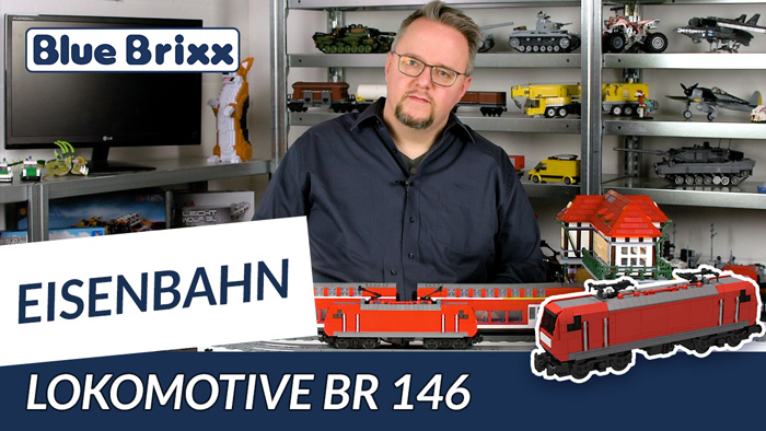 Youtube: Lokomotive BR 146 von BlueBrixx