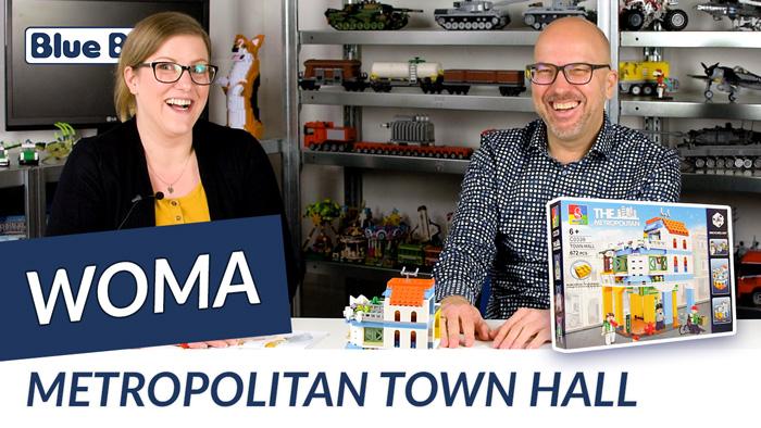 Youtube: Metropolitan Town Hall von Woma @ BlueBrixx