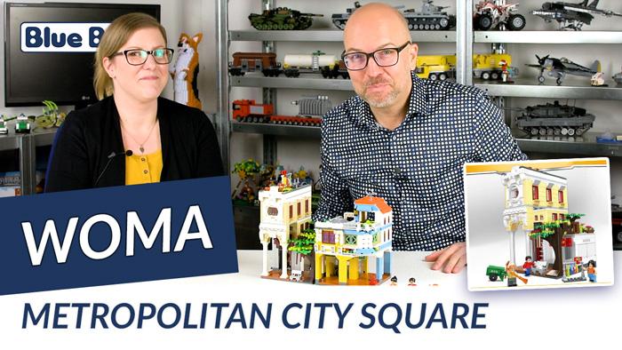Youtube: Metropolitan City Square von Woma @ BlueBrixx