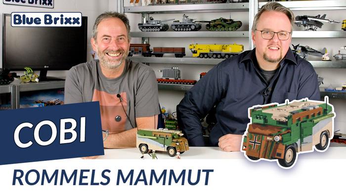 Youtube: Rommels Mammut Panzerkommandowagen von Cobi @ BlueBrixx