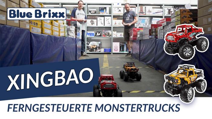 Ferngesteuerte Monstertrucks von Xingbao @ BlueBrixx