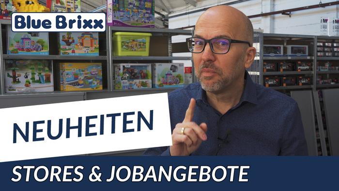 Youtube: Die Mai-Neuheiten 2020 bei BlueBrixx - Rundgang & Jobangebote mit Klaus!