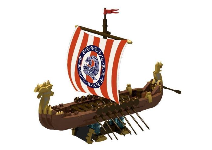 im Shop: Thorwaler Drachenschiff