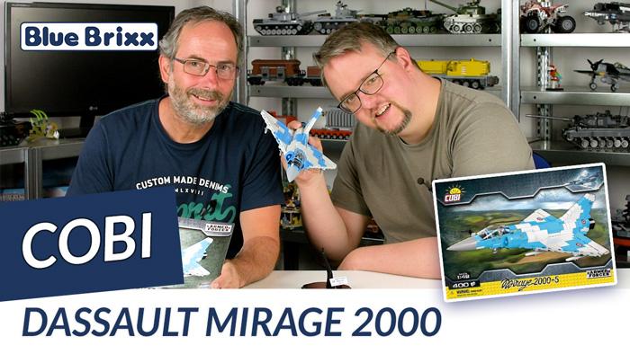 Youtube: Dassault Mirage 2000 von Cobi @ BlueBrixx