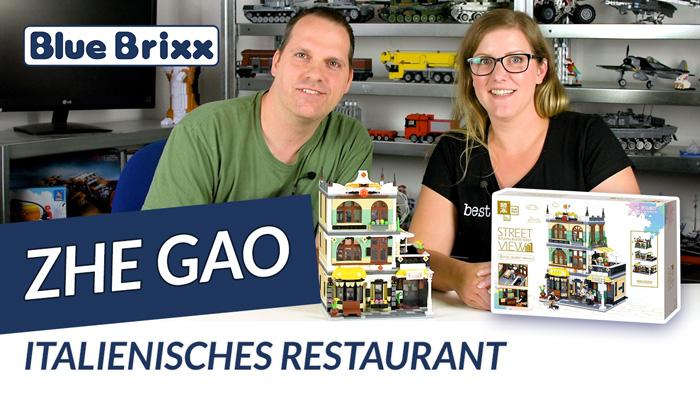 Youtube: Italienisches Restaurant von Zhe Gao @ BlueBrixx