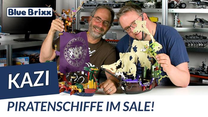 Youtube: Piratenschiffe von Kazi @ BlueBrixx - jetzt im Preis reduziert!
