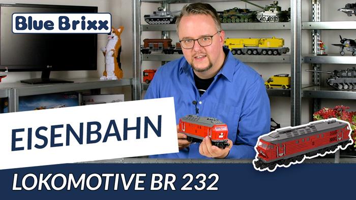 Youtube: Lokomotive BR 232 von BlueBrixx