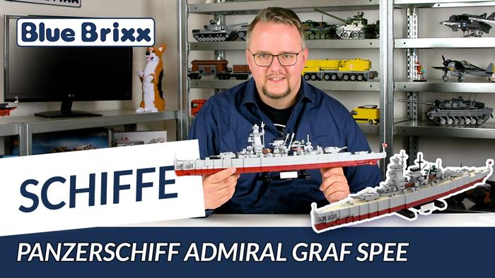 Youtube: Panzerschiff Admiral Graf Spee von BlueBrixx