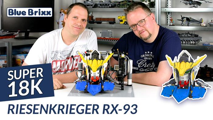 Youtube: Riesenkrieger RX-93 von Super 18K @ BlueBrixx - mit LED-Beleuchtung!