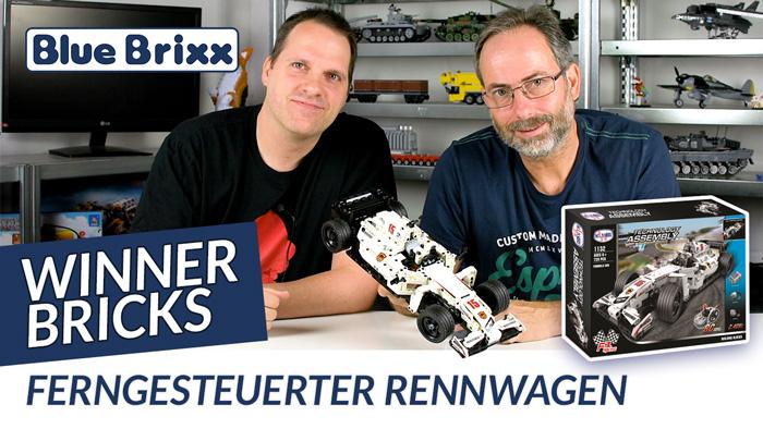 Ferngesteuerter Formel-Rennwagen von Winner Bricks @ BlueBrixx