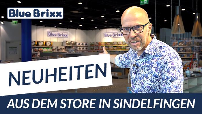 Youtube: Neuheiten @ BlueBrixx - heute aus dem Store in Sindelfingen!