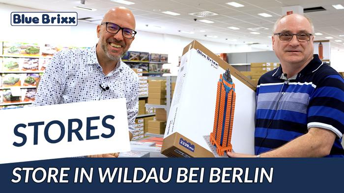 Youtube: Klaus auf Tour - heute im BlueBrixx Store in Wildau bei Berlin!