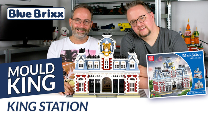 Youtube: King Station von Mould King @ BlueBrixx
