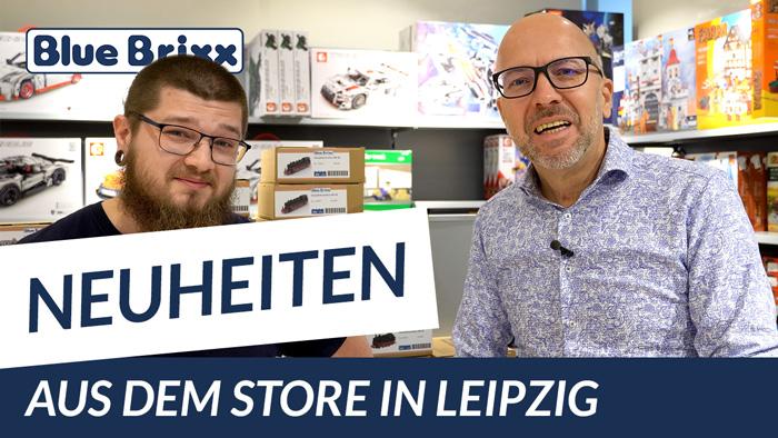 Youtube: Neuheiten @ BlueBrixx - heute aus dem Store in Leipzig!