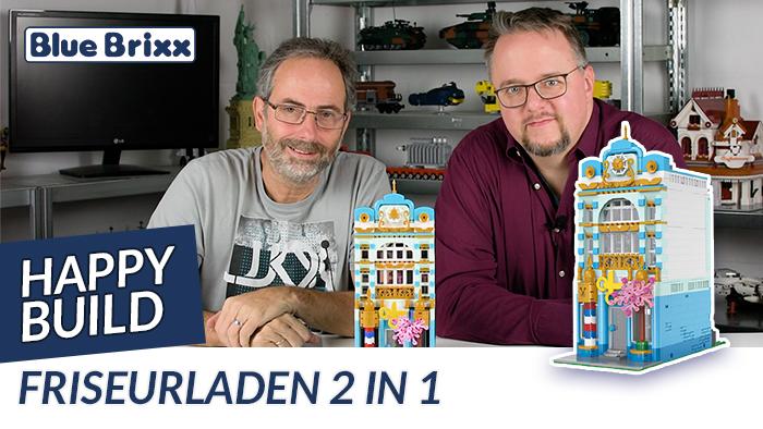 Youtube: Friseurladen 2-in-1-Set von Happy Build @ BlueBrixx
