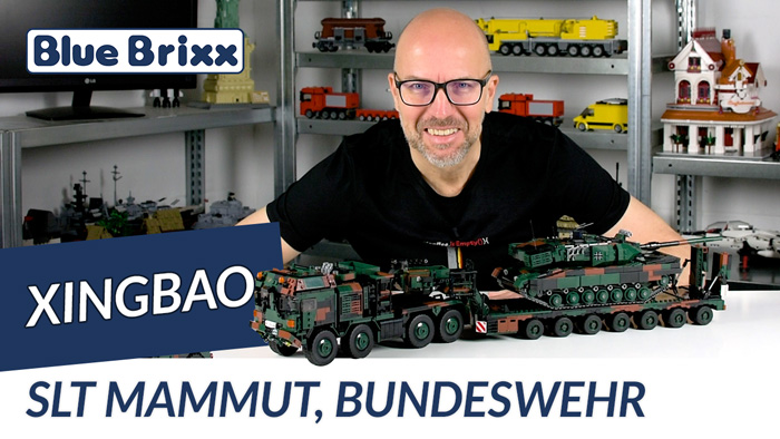 Youtube: Bundeswehr SLT Mammut von Xingbao @ BlueBrixx