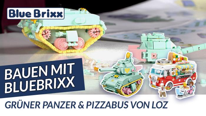 Youtube: Bauen mit BlueBrixx - 2 Sets von LOZ aus Mini Blocks @ BlueBrixx