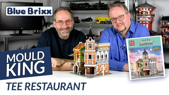 Youtube: Tee-Restaurant von Mould King @ BlueBrixx