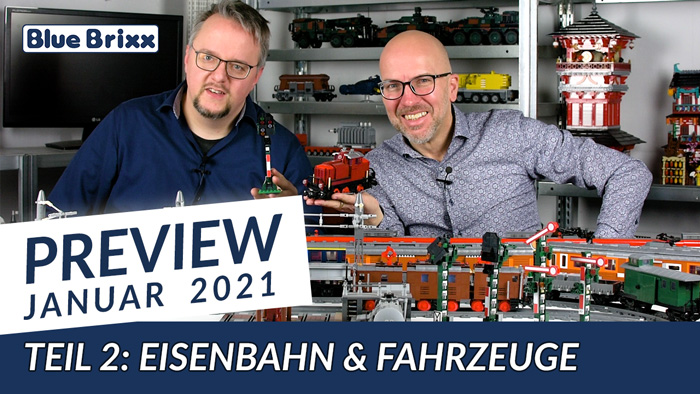 Youtube: Preview-Special Januar 2021 - Teil 2 @ BlueBrixx