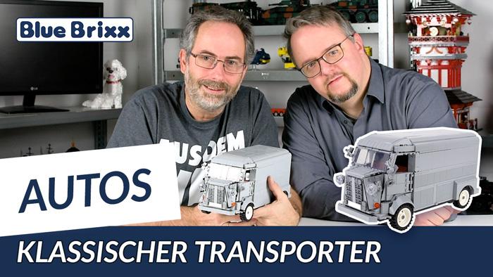 Youtube: Klassischer Transporter von BlueBrixx