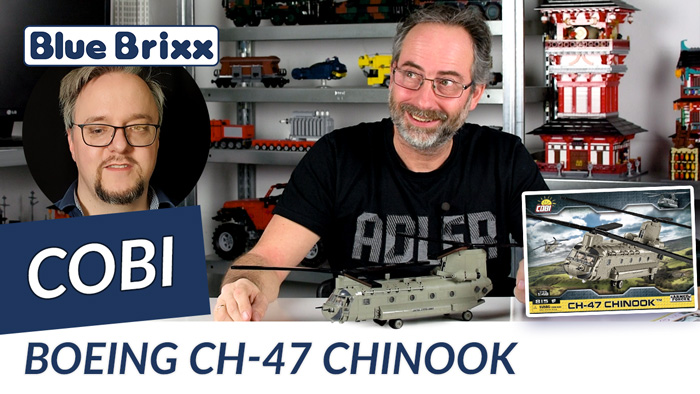 Youtube: Boeing CH-47 Chinook von Cobi @ BlueBrixx