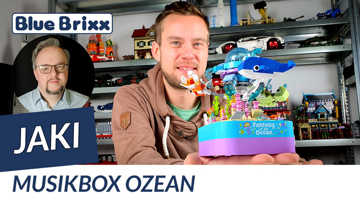 Musikbox Ozean von Jaki @ BlueBrixx - Heute spielt Musik im Noppensteinstudio!