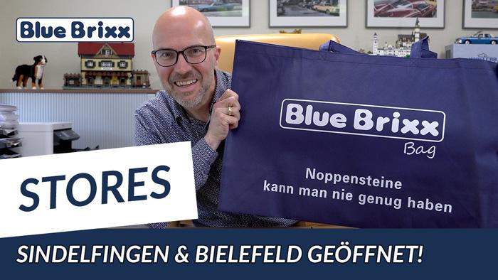 Youtube: Die ersten BlueBrixx-Stores in Sindelfingen und Bielefeld haben wieder geöffnet!