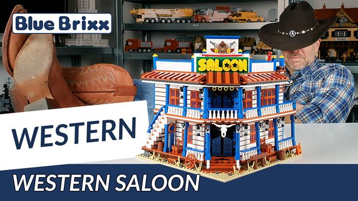 Youtube: Western-Saloon von BlueBrixx Pro - 3.840 Teile Bauspaß im Wilden Westen!