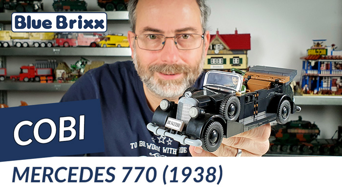 Youtube: Mercedes 770 (1938) von Cobi @ BlueBrixx