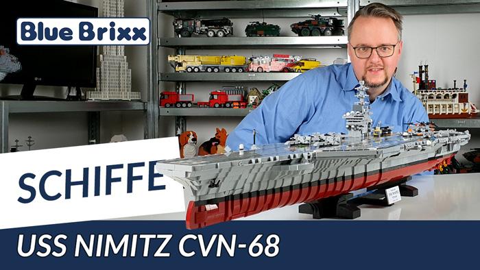 Youtube: Flugzeugträger USS Nimitz CVN-68 von BlueBrixx