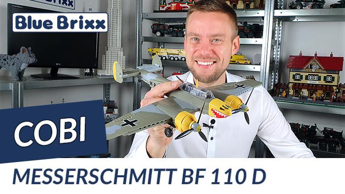 Youtube: Messerschmitt BF 110 B von Cobi @ BlueBrixx