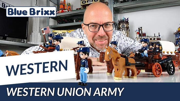 Western Union Army von BlueBrixx - made by XingBao