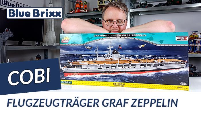 Youtube: Flugzeugträger Graf Zeppelin von Cobi @ BlueBrixx - das aktuell größte Cobi-Set!