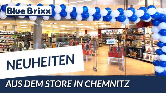Neuheiten @ BlueBrixx - heute aus dem neuen Store in Chemnitz!