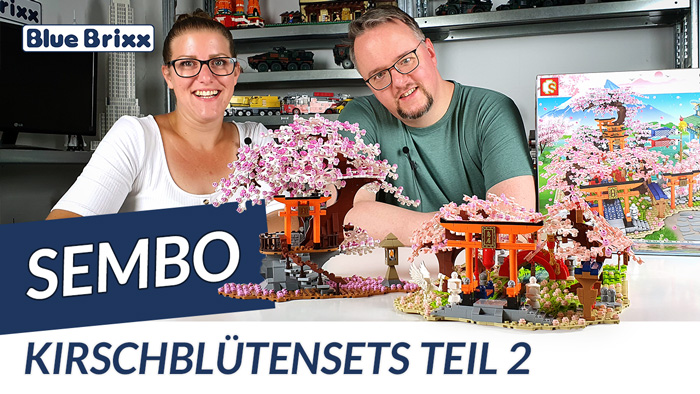 Youtube: Kirschblütensets von Sembo @ BlueBrixx - Teil 2 von 2!
