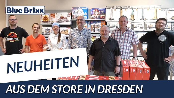 Youtube: Neuheiten @ BlueBrixx - heute aus dem neuen Store in Dresden!
