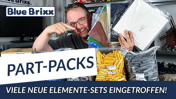 Elemente Sets - Bausteine, Grundplatten und Zubehör @ BlueBrixx