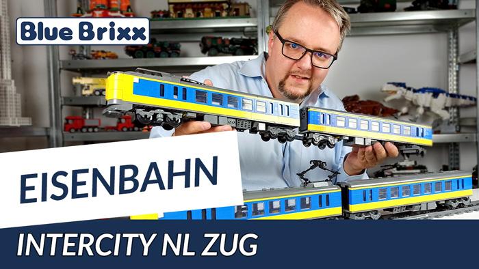 Intercity NL Zug von BlueBrixx - mehr als 1,5 Meter lang!