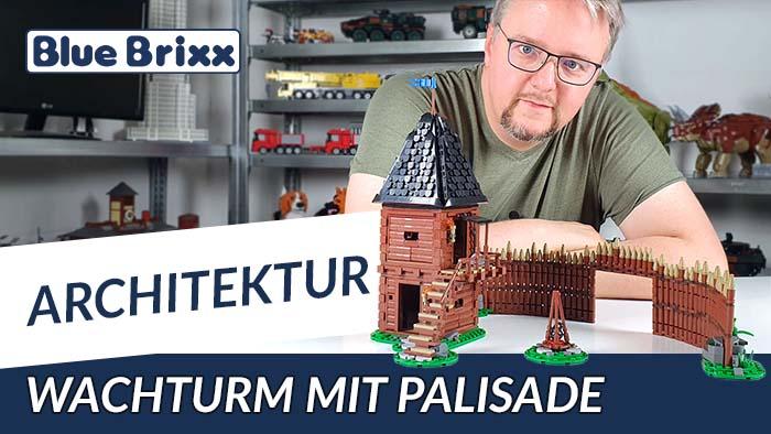Youtube: Wachturm mit Palisade von BlueBrixx - unser neuestes Mittelalter-Set!
