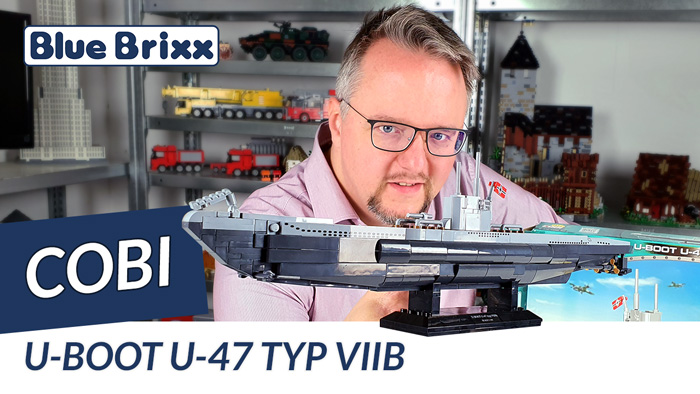 Youtube: U-Boot U-47 Typ VII B von Cobi @ BlueBrix