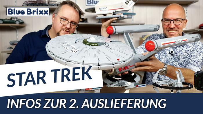 Youtube: Star Trek @ BlueBrixx - bald landet die riesige Enterprise in unserem Shop!