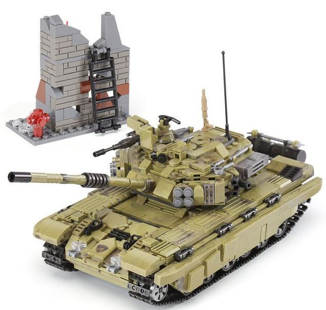 Xingbao Building Block Set - Tank