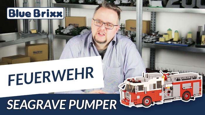 BlueBrixx Youtube Seagrave Pumper