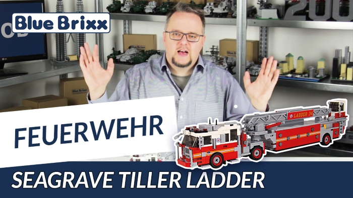Youtube BlueBrixx Special Seagrave Tiller Ladder