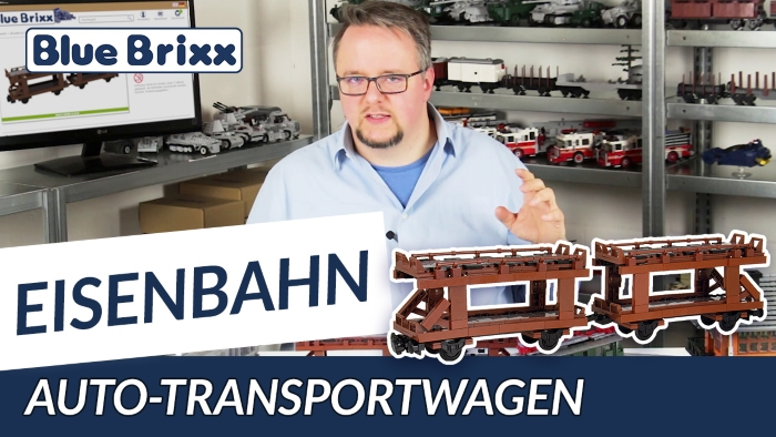 Youtube BlueBrixx Special Auto-Transportwagen