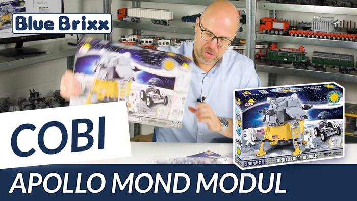 Youtube: Apollo lunar module by Cobi @ BlueBrixx