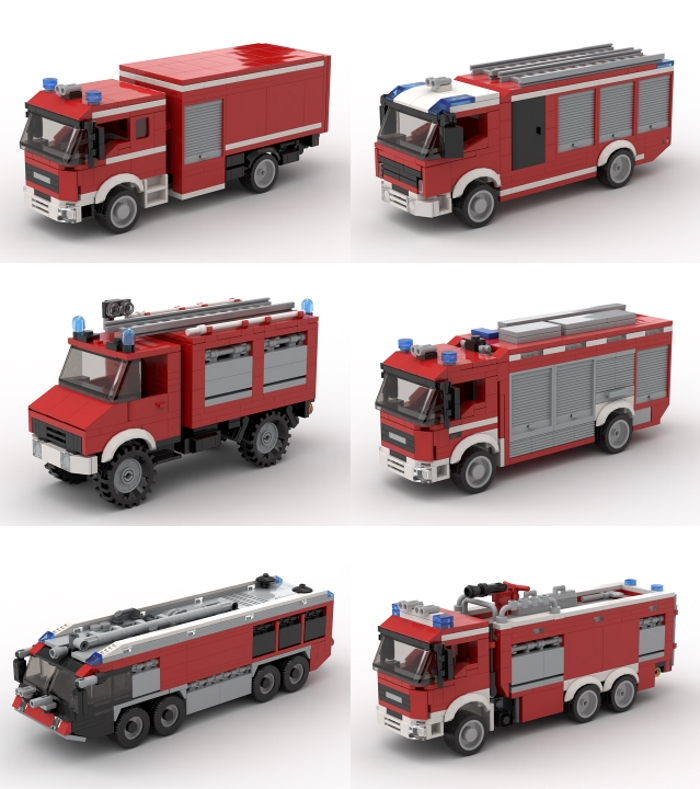 German fire trucks 1