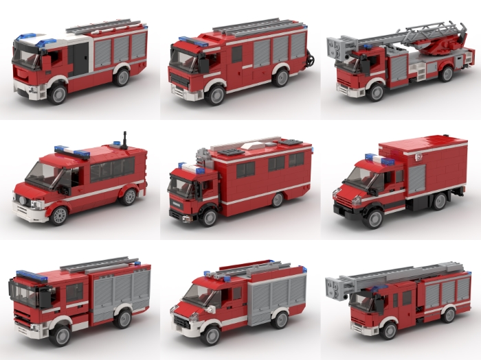 German fire trucks 2