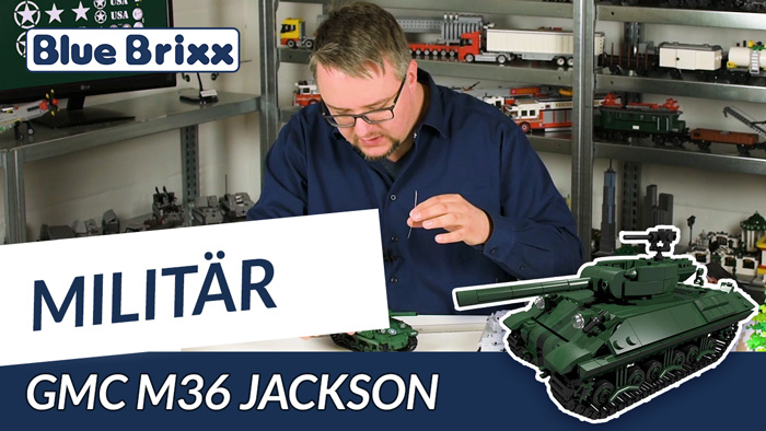 Youtube BlueBrixx GMC M36 Jackson
